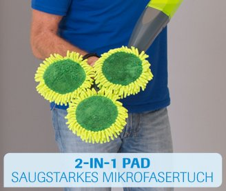 3 Magic Mikrofaser-Pads