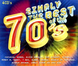 Simply the Best of the 70s,4 CDs